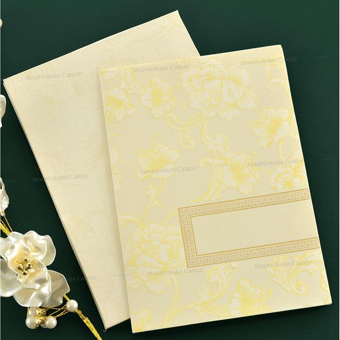 test Muslim Wedding Cards - MWC-19210
