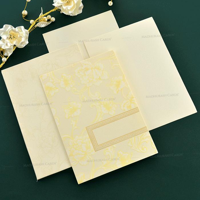 Muslim Wedding Cards - MWC-19210 - 4