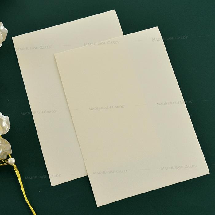 Muslim Wedding Cards - MWC-19210 - 5