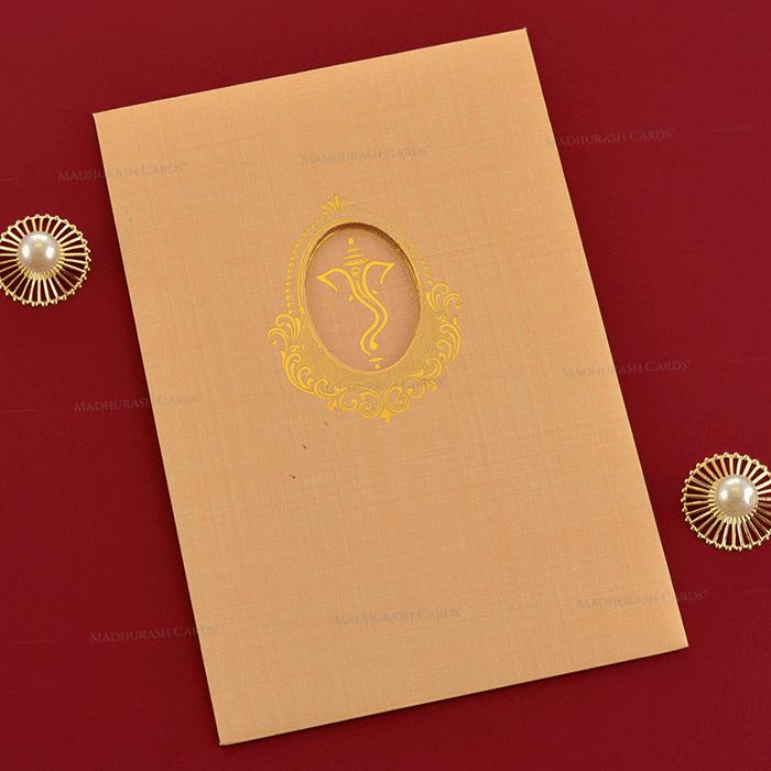Hindu Wedding Cards - HWC-19244 - 3