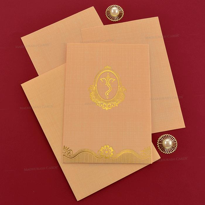 Hindu Wedding Cards - HWC-19244 - 4
