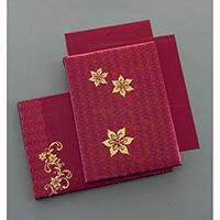Hard Bound Wedding Cards - HBC-7054