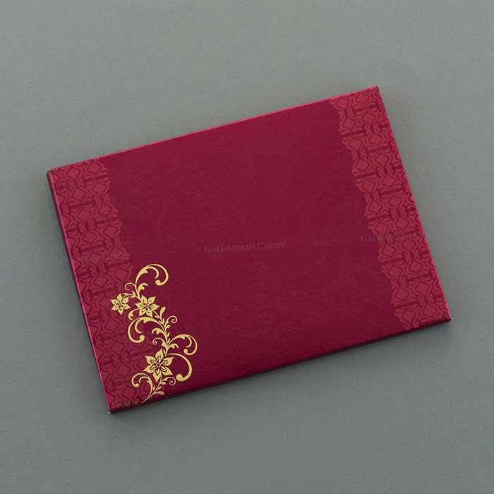 Hard Bound Wedding Cards - HBC-7054 - 3