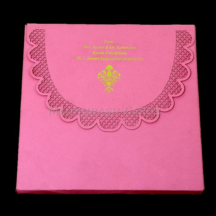 Luxury Wedding Cards - LWC-09 - 4
