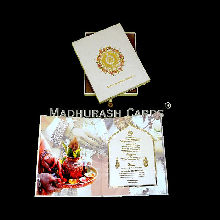 Luxury Wedding Cards - LWC-12 - 4