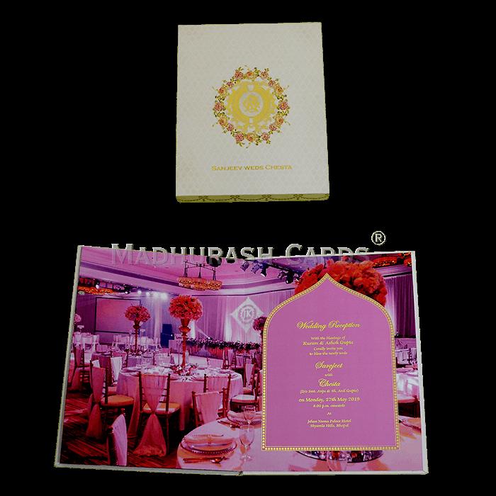 Luxury Wedding Cards - LWC-12 - 5