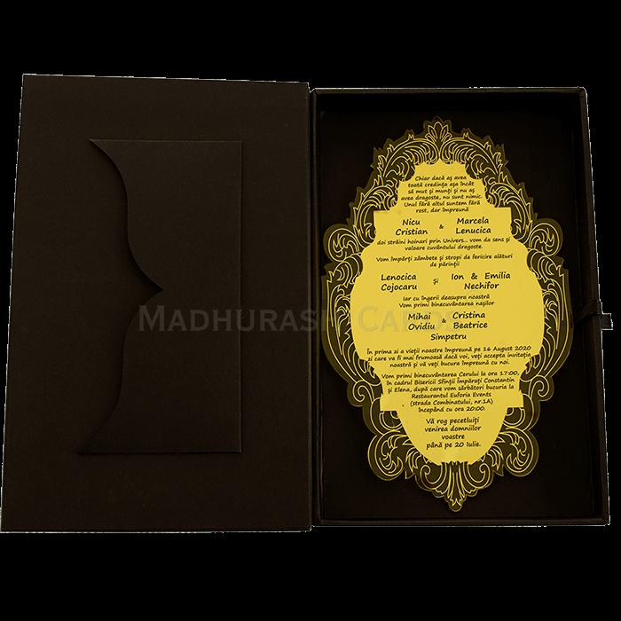 Luxury Wedding Cards - LWC-9321 - 5