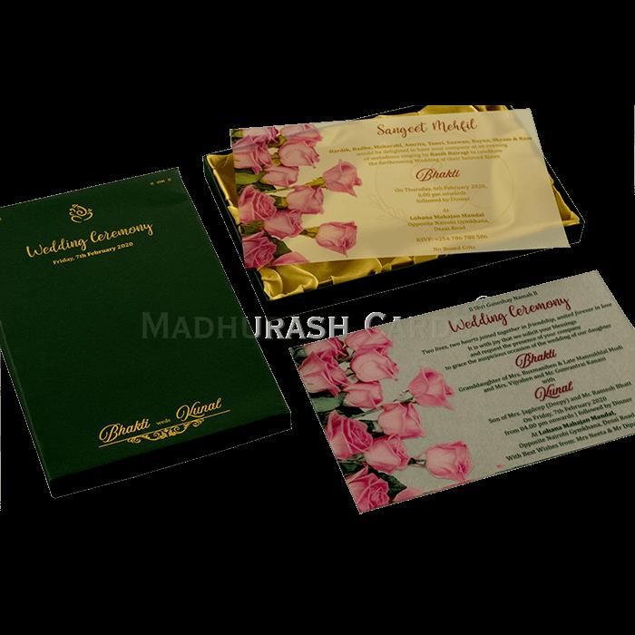 test Luxury Wedding Cards - LWC-9372