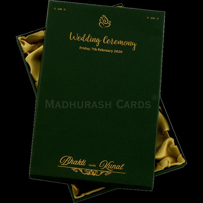 Luxury Wedding Cards - LWC-9372 - 3