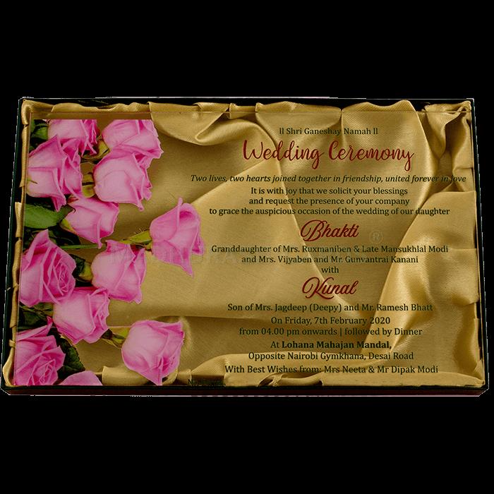 Luxury Wedding Cards - LWC-9372 - 4