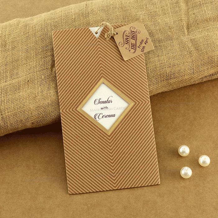 test Designer Wedding Cards - DWC-19207