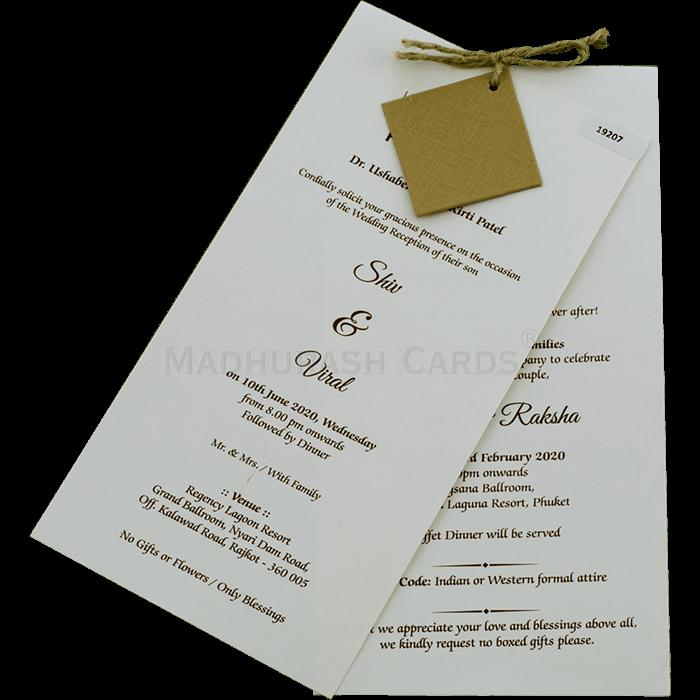 Thread Ceremony Invites - TCI-19207 - 3