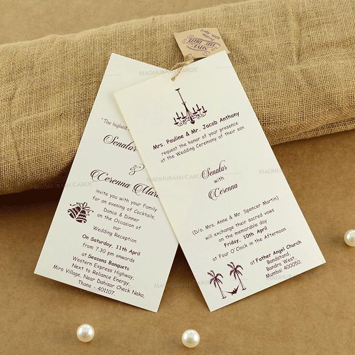 Thread Ceremony Invites - TCI-19207 - 5