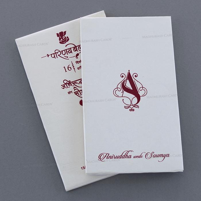 test Sikh Wedding Cards - SWC-19750