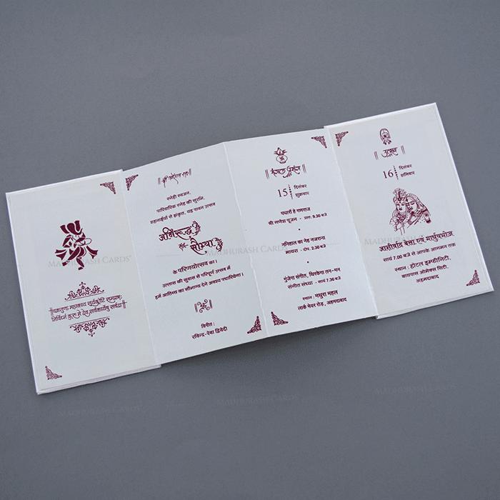 Sikh Wedding Cards - SWC-19750 - 4