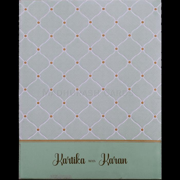 Muslim Wedding Cards - MWC-19133 - 3