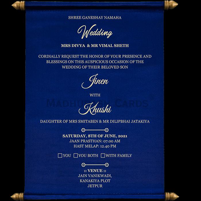 Scroll Wedding Invitations - SC-19059 - 4