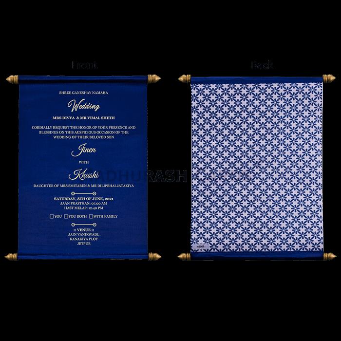 Scroll Wedding Invitations - SC-19059 - 5