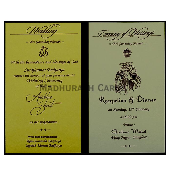 Thread Ceremony Invites - TCI-19771 - 5