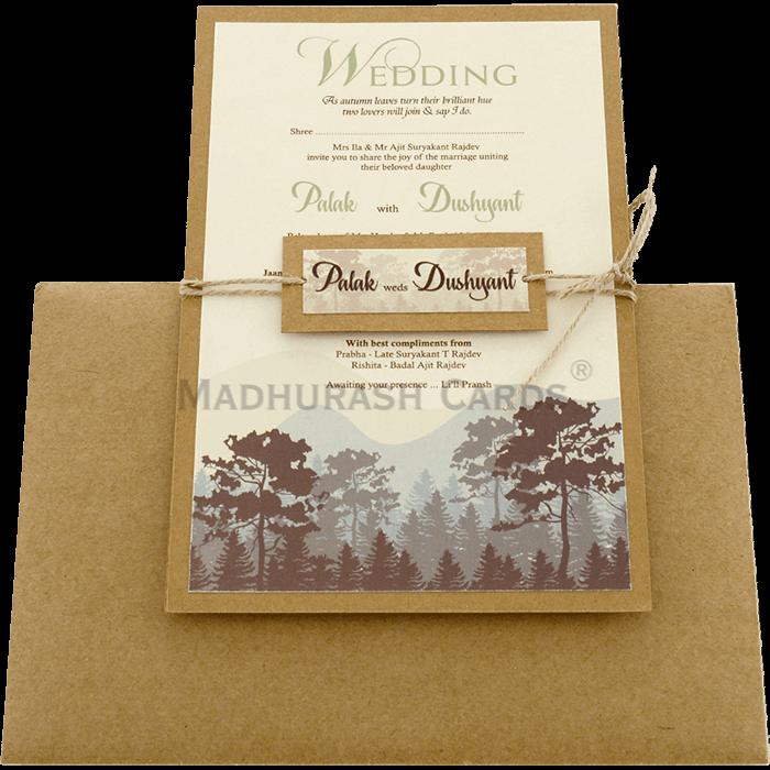Custom Wedding Cards - CZC-9472 - 3