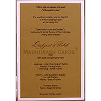 Personalized Single Invites - PSI-9536
