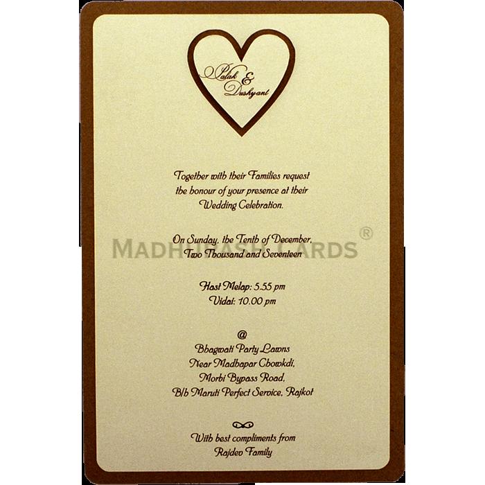 Personalized Single Invites - PSI-9543 - 3