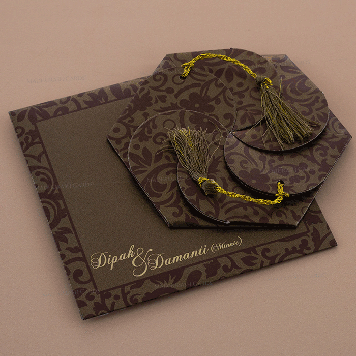 test Muslim Wedding Cards - MWC-7109