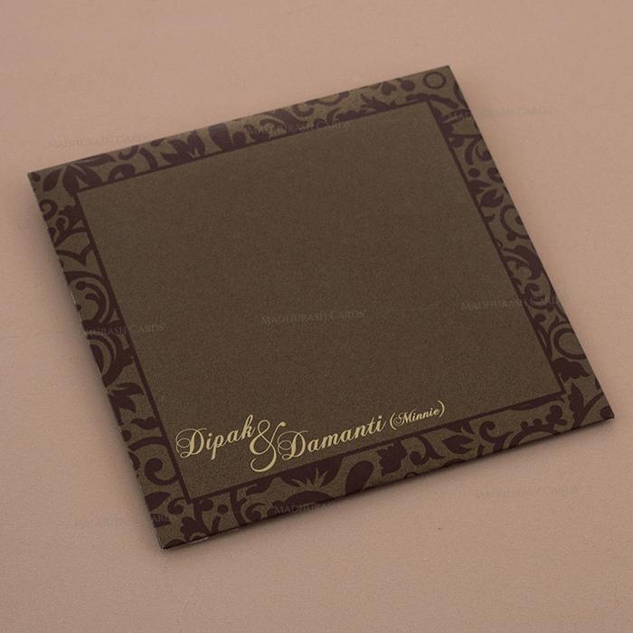 Muslim Wedding Cards - MWC-7109 - 3