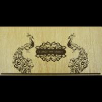 Wooden Wedding Invites - WWC-9203