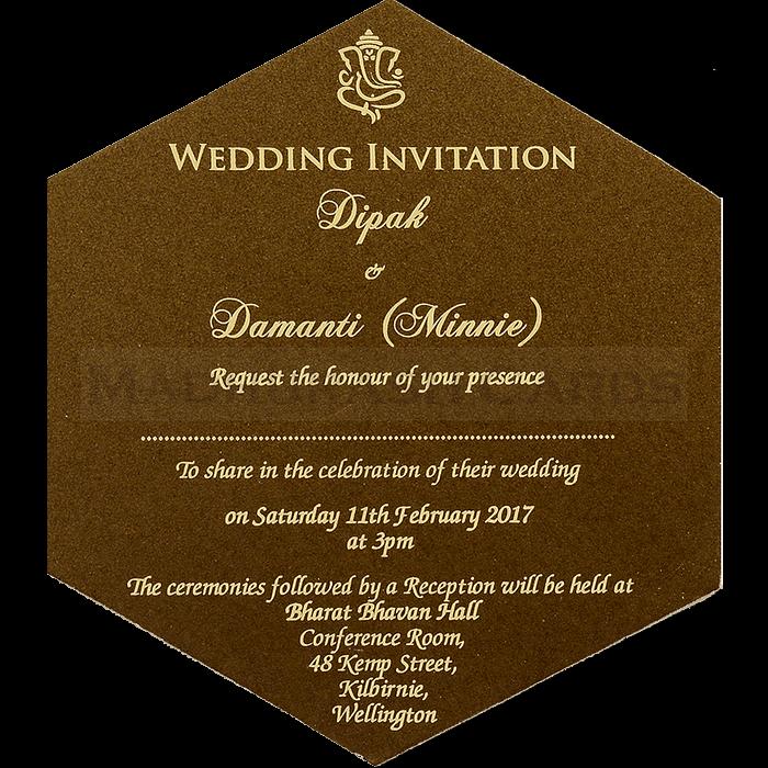 Hindu Wedding Cards - HWC-7109 - 5