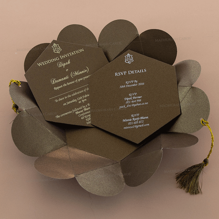 Sikh Wedding Cards - SWC-7109 - 4