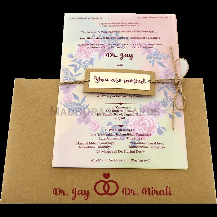 Personalized Single Invites - PSI-9754 - 3