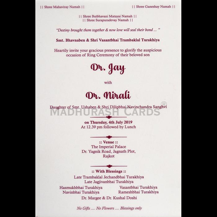 Personalized Single Invites - PSI-9754 - 4