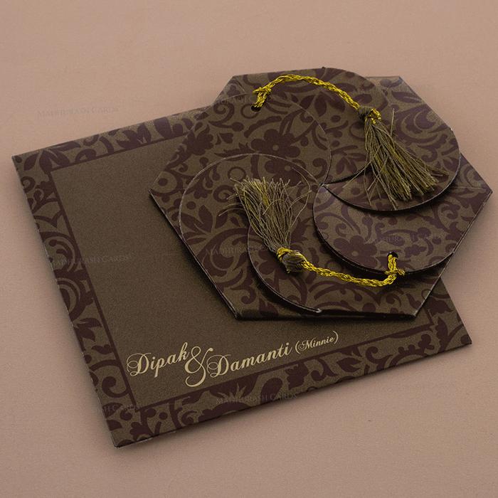 test Designer Wedding Cards - DWC-7109