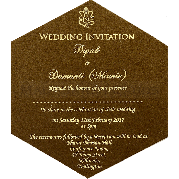 Designer Wedding Cards - DWC-7109 - 5