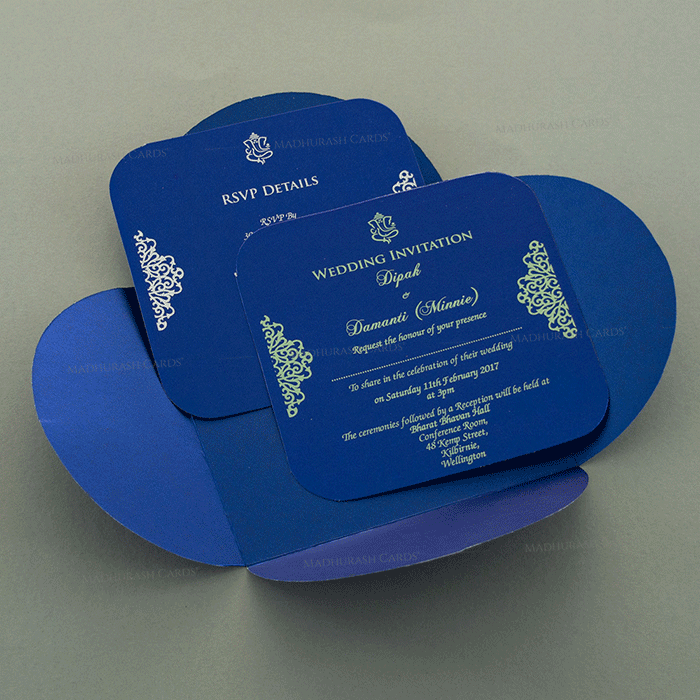 Muslim Wedding Cards - MWC-7110 - 4