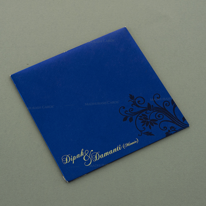 Hindu Wedding Cards - HWC-7110 - 3