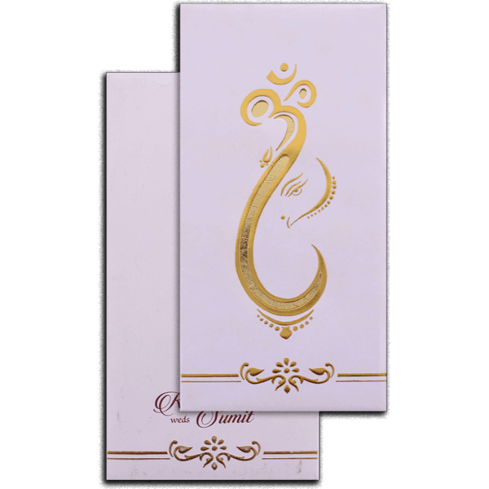 test Hard Bound Wedding Cards - HBC-7078