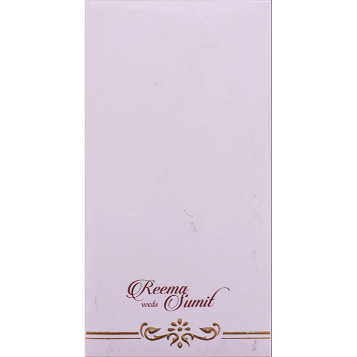 Hard Bound Wedding Cards - HBC-7078 - 4