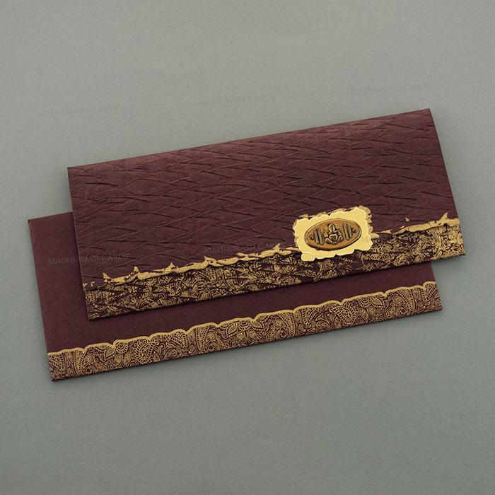 Hindu Wedding Cards - HWC-7168