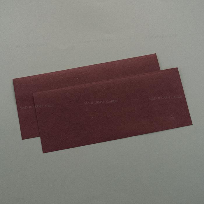 Hindu Wedding Cards - HWC-7168 - 4