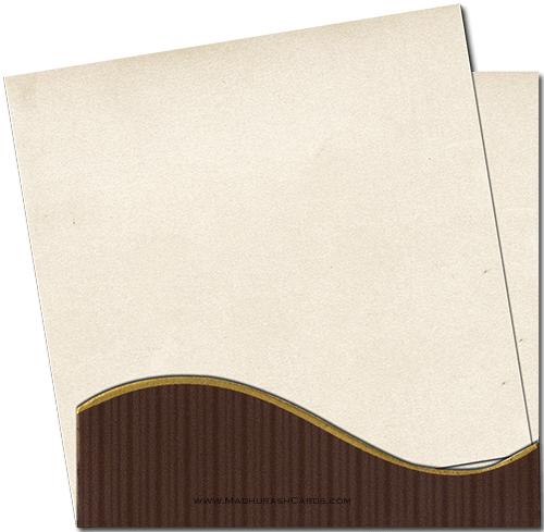 Muslim Wedding Cards - MWC-7224 - 4