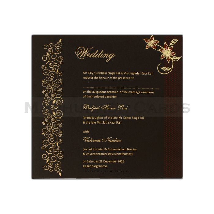 Fabric Invitations - FWI-7413 - 4