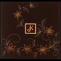 Hard Bound Wedding Cards - HBC-7413