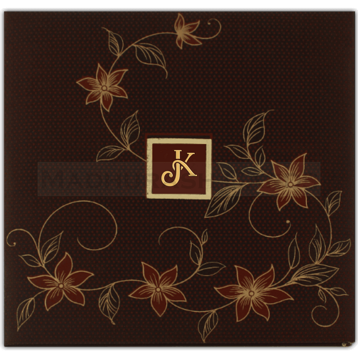 test Hard Bound Wedding Cards - HBC-7413