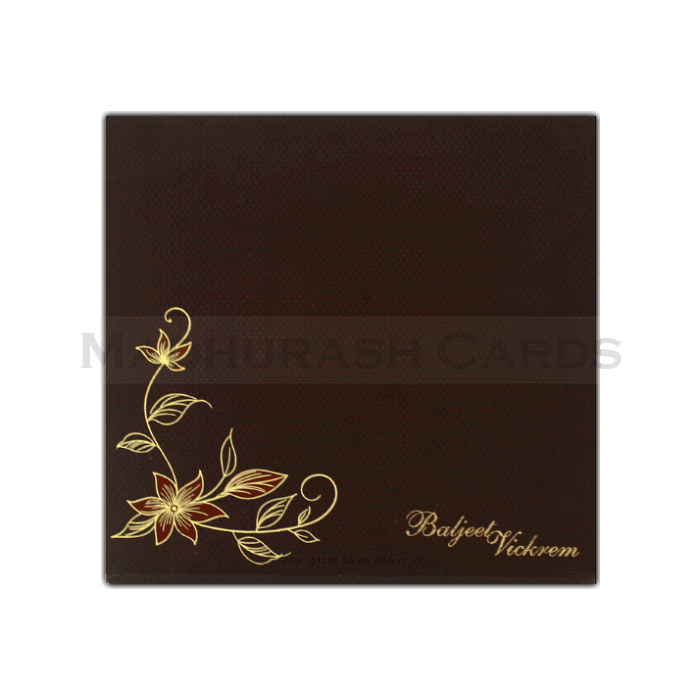 Hard Bound Wedding Cards - HBC-7413 - 3