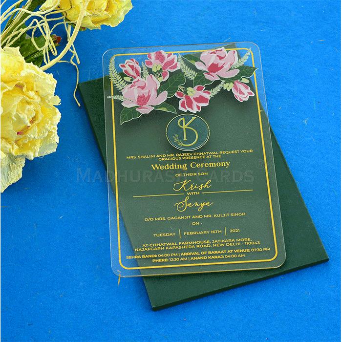 Personalized Single Invites - PSI-9427PN - 3