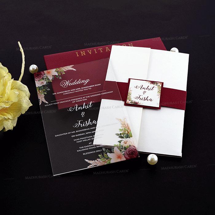 test Luxury Wedding Cards - LWC-9351