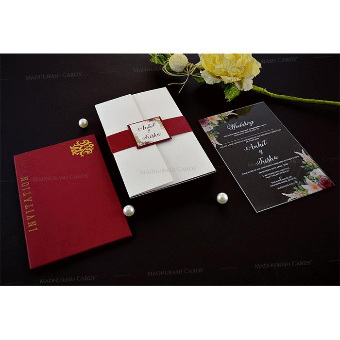 Luxury Wedding Cards - LWC-9351 - 4