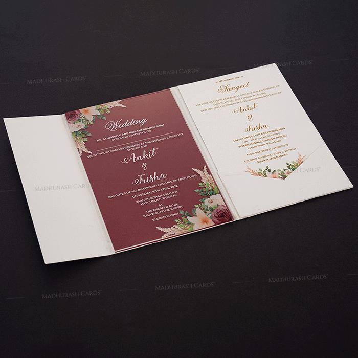 Luxury Wedding Cards - LWC-9351 - 5